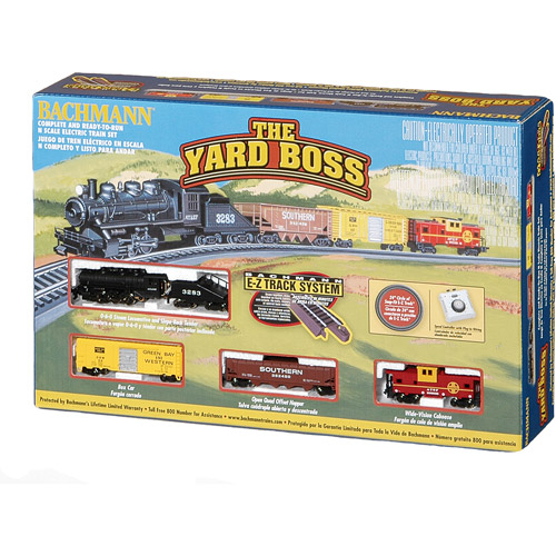 Bachmann N Scale Train-Yard Boss Electric Train Set
