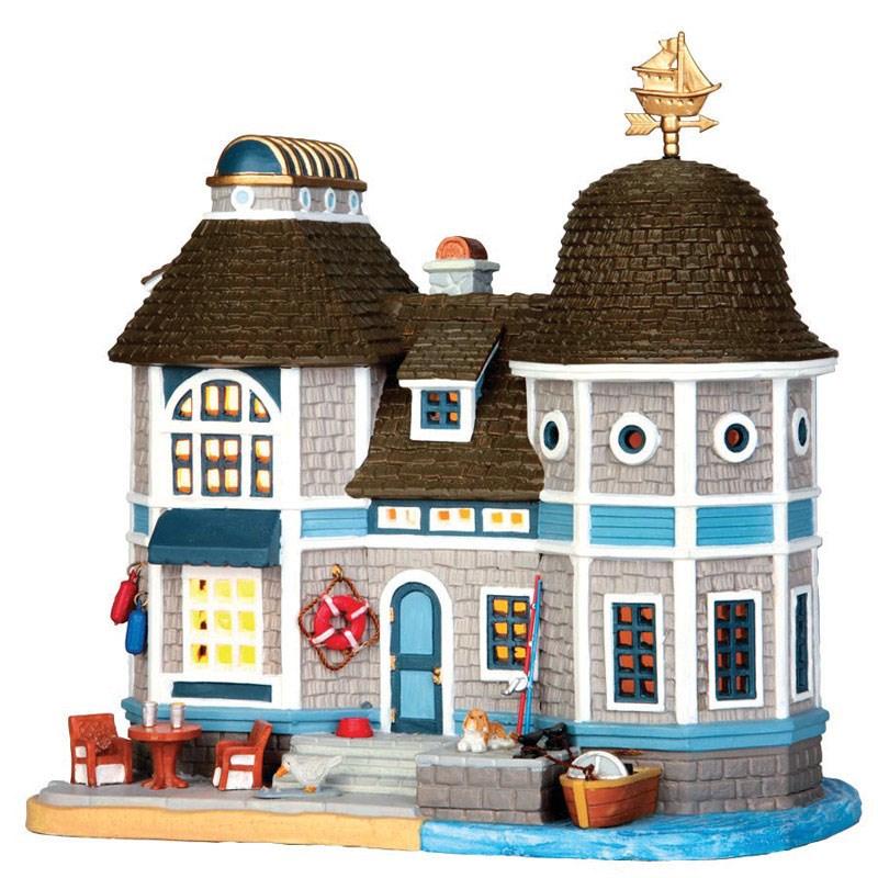 Lemax Inc Lemax Porcelain Village Building Bay View Cottage