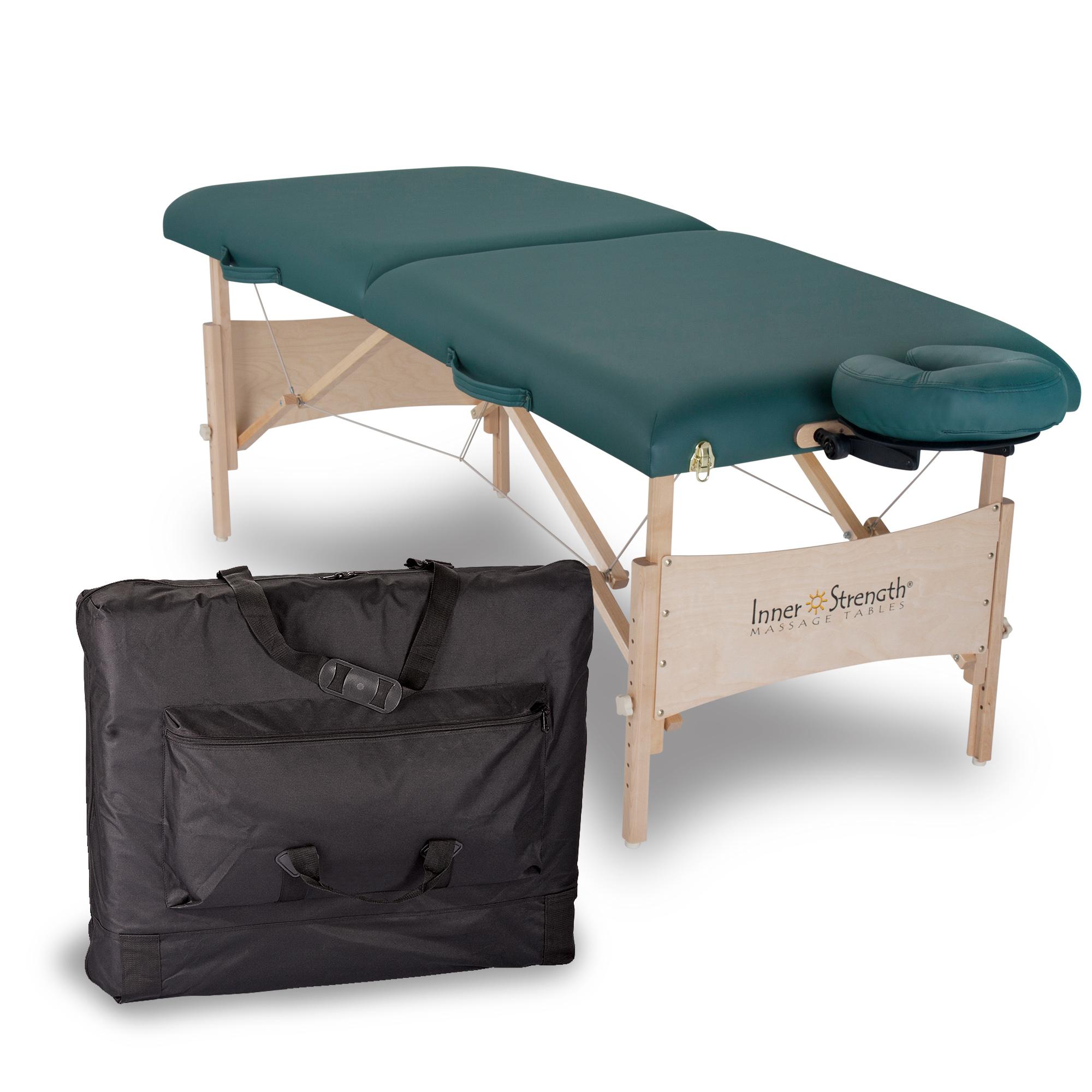 Inner Strength Element Massage Table, Teal