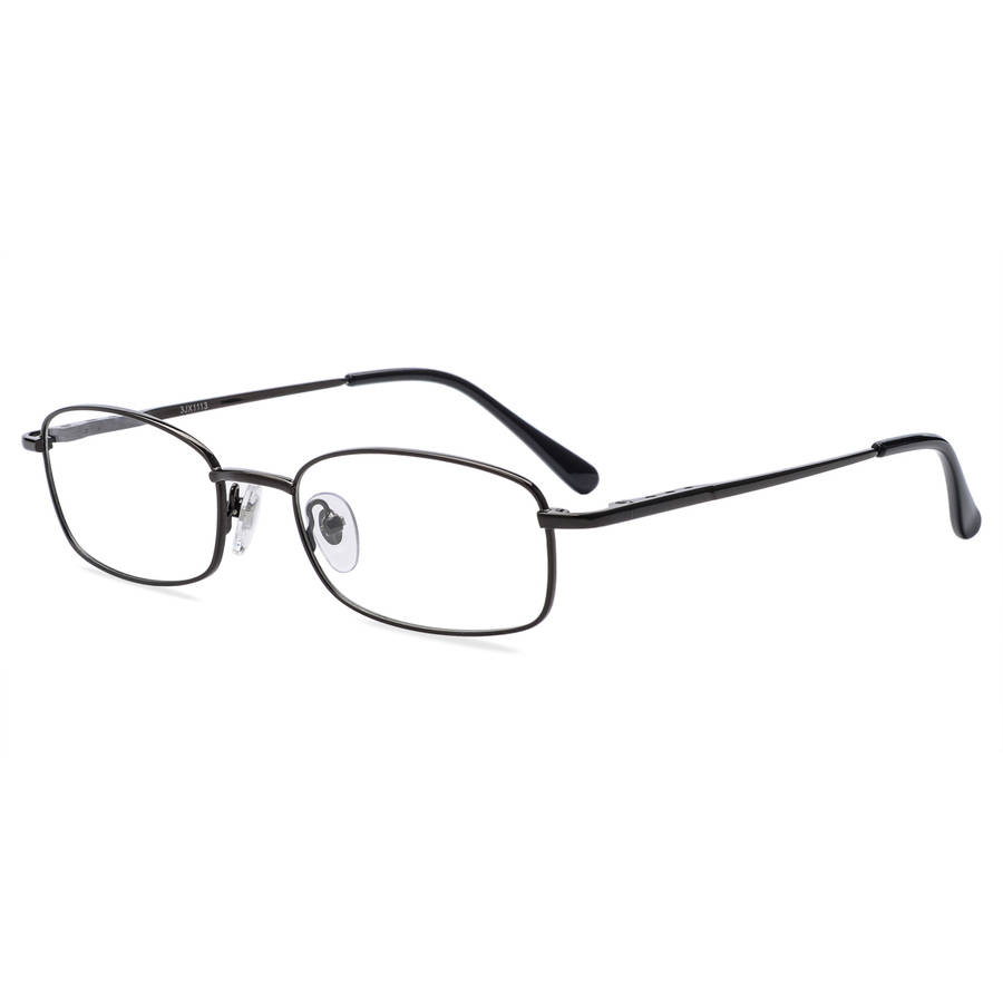 Randy Jackson Mens Prescription Glasses, 1042 Black/Gunmetal ...