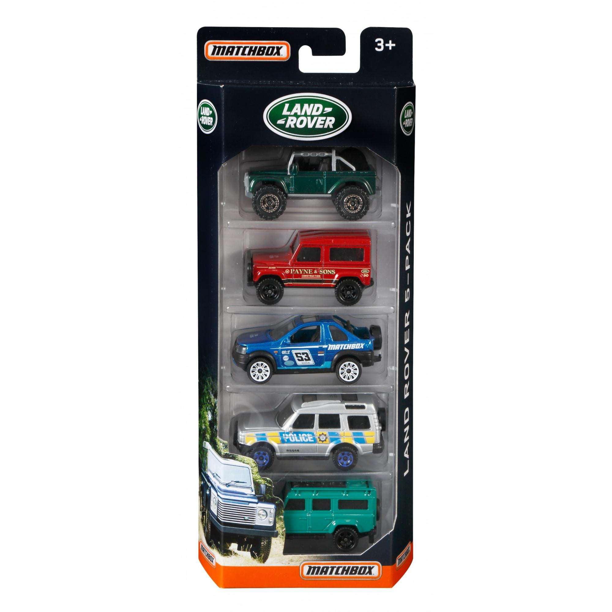 Matchbox Land Rover 5-Pack by Mattel