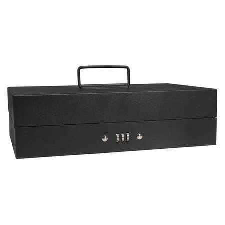 BARSKA CB11794 Cash Box,Compartments 10,3 in. H G4477649 by Barska