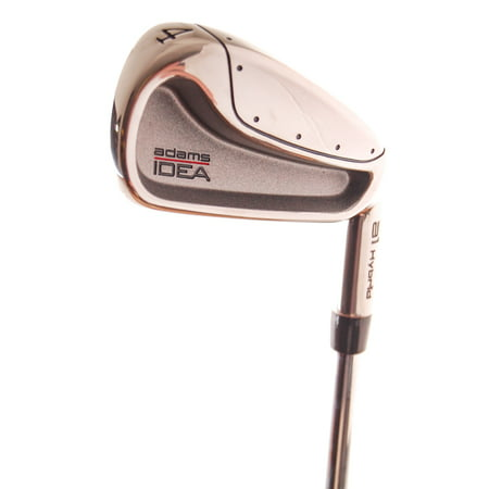 Adams Idea A12 Hybrid (New Adams IDEA a1 Hybrid 4-Iron Stiff Flex Steel RH )