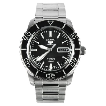 5 Sports Automatic Black Dial (5 Sports Black Dial Automatic Mens Watch)