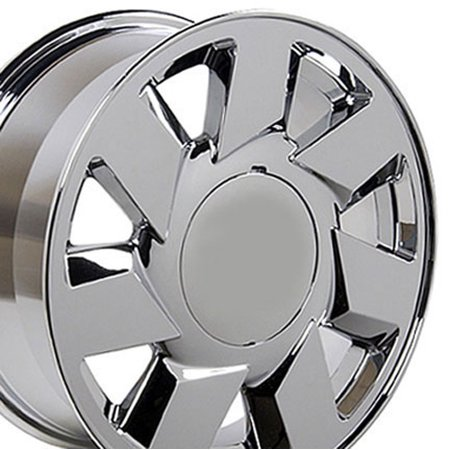 OE Wheels 17 Inch DTS Style | Fits Cadillac ATS CTS DTS STS | CA01 Chrome 17x7.5 Rim Hollander 4553 Cadillac Cts Chrome Wheels