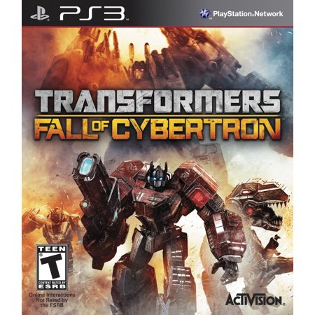 Activision Transformers: Fall of Cybertron PS3 (Ps3 Games Guardian)