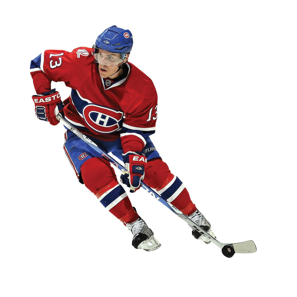 Michael Cammalleri Fathead NHL Montreal Canadiens Hockey Player Wall Accent Sticker