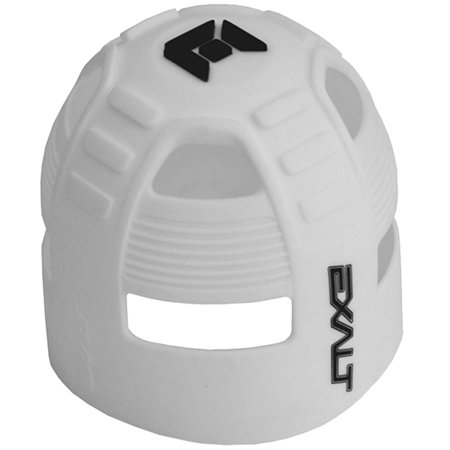 White Top Grip (Exalt Paintball Tank Grip - 45-88ci - White /)