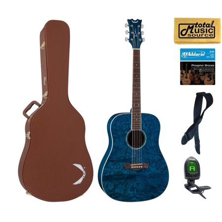 Dean Guitars AX DQA TBL HSBNPACK  Acoustic Guitar Case Bundle2 (Dean Ax Dqa Acoustic Guitar)