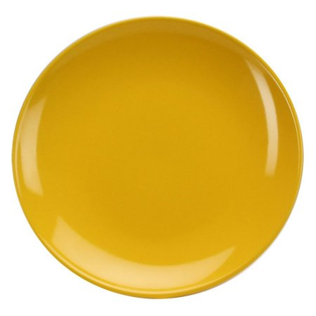 Yellow Rose Salad Plate - Omniware 8 in. Round Salad Plate - Set of 4