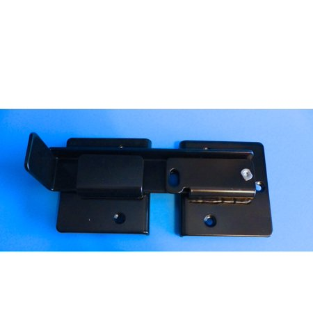 Double Gate Flip Sentry Gate Latch - Flip Latch, Latches Two Gates Together & can be Pad Locked for Added Security - Double Gate Latch is Powder Coated Black & has Bolt Gate Hardware