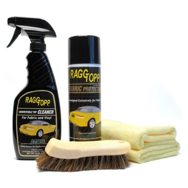 RaggTopp Firic Convertible Top Cleaner/Protectant Kit