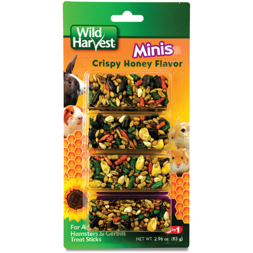 Wild Harvest Small Animal Honey Mini Sticks, 3.25 oz