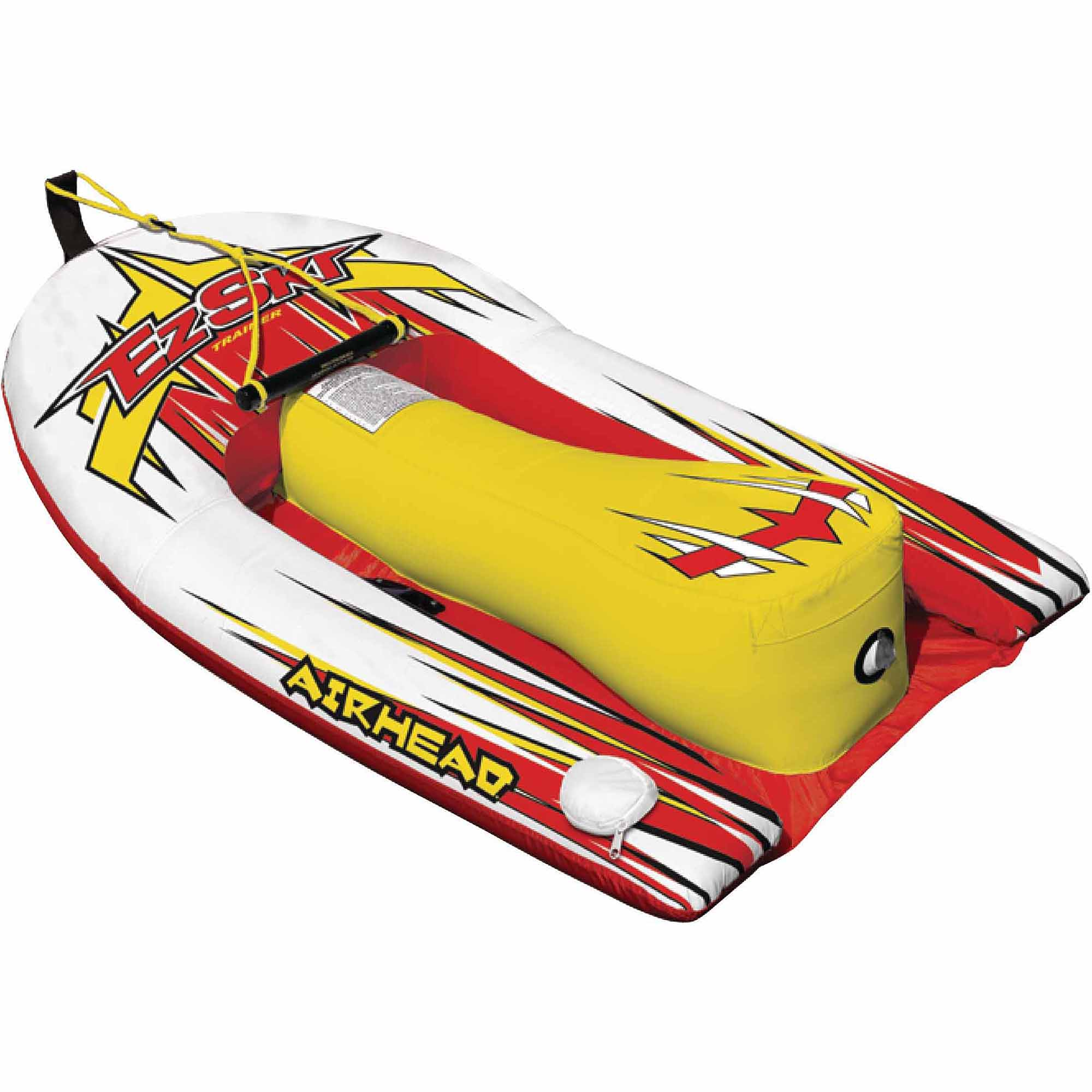Airhead Big EZ Ski Inflatable Single Rider Towable Water Ski Hybrid by Kwik Tek