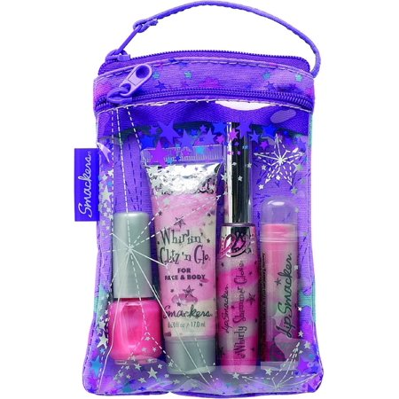 Lip Smackers Cosmetic Bag Glam It Up Collection 1 Ea Pack Of 4