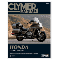 CLYMER MANUAL HONDA GL1200 GOLD WING 1984-1987