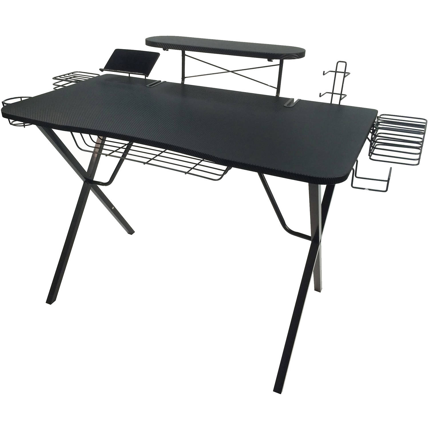 Prime Atlantic Professional Gaming Desk Pro With Built In Storage Metal Accessory Holders And Cable Slots Download Free Architecture Designs Grimeyleaguecom