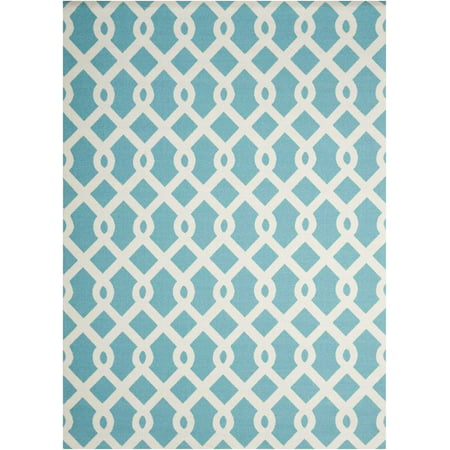 Image of Nourison SND20-REC-8X11 Poolside Waverly Sun N' Shade 8' X 11' Rectangular Wool Hand
