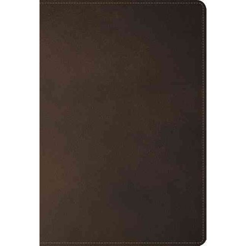 Holy Bible: New King James Version, Earth Brown, Leathersoft, Ultraslim Edition