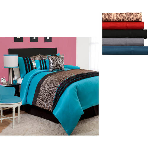 Animal Print Bedding Set Value Bundle