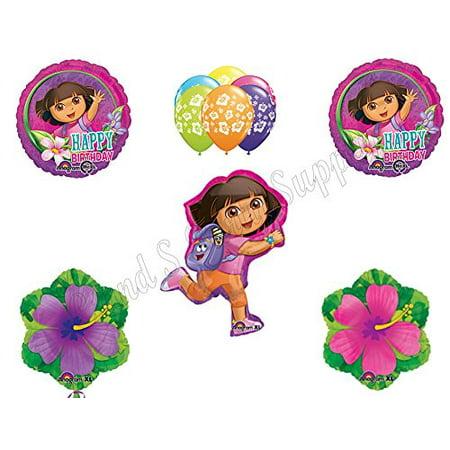 DORA THE EXPLORER Birthday Party Balloons Decoration Supplies Nick Summer (Dora Birthday Party Supplies)