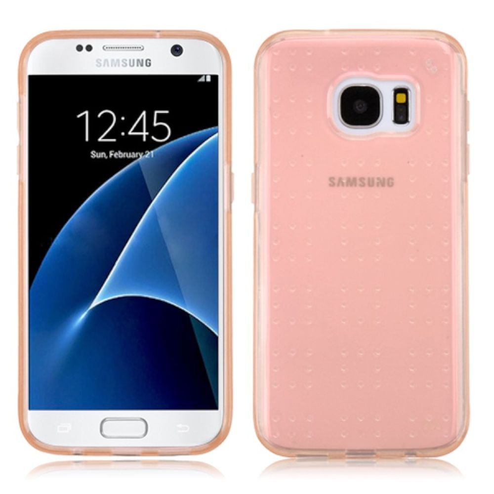 Insten TPU Case For Samsung Galaxy S7 - Gold