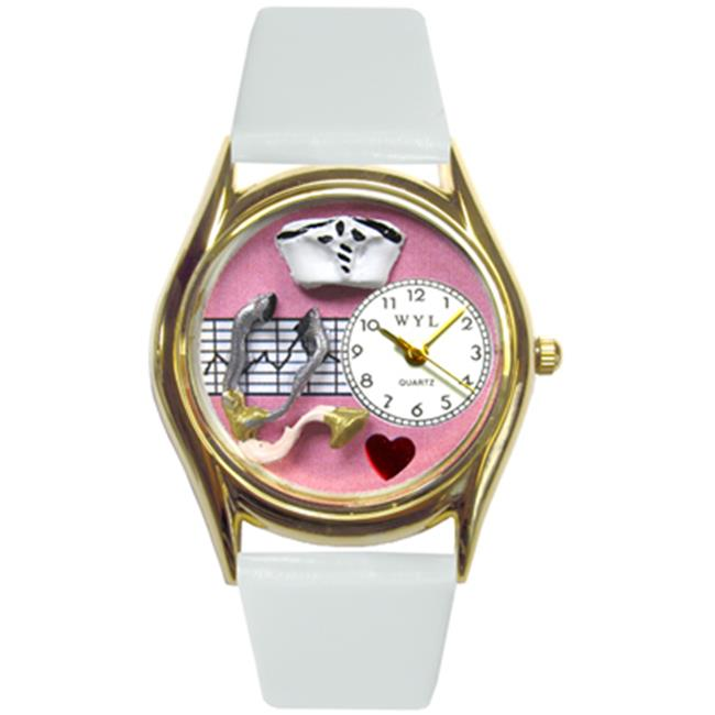 Nurse Pink Watch Small In Gold - image 1 of 1