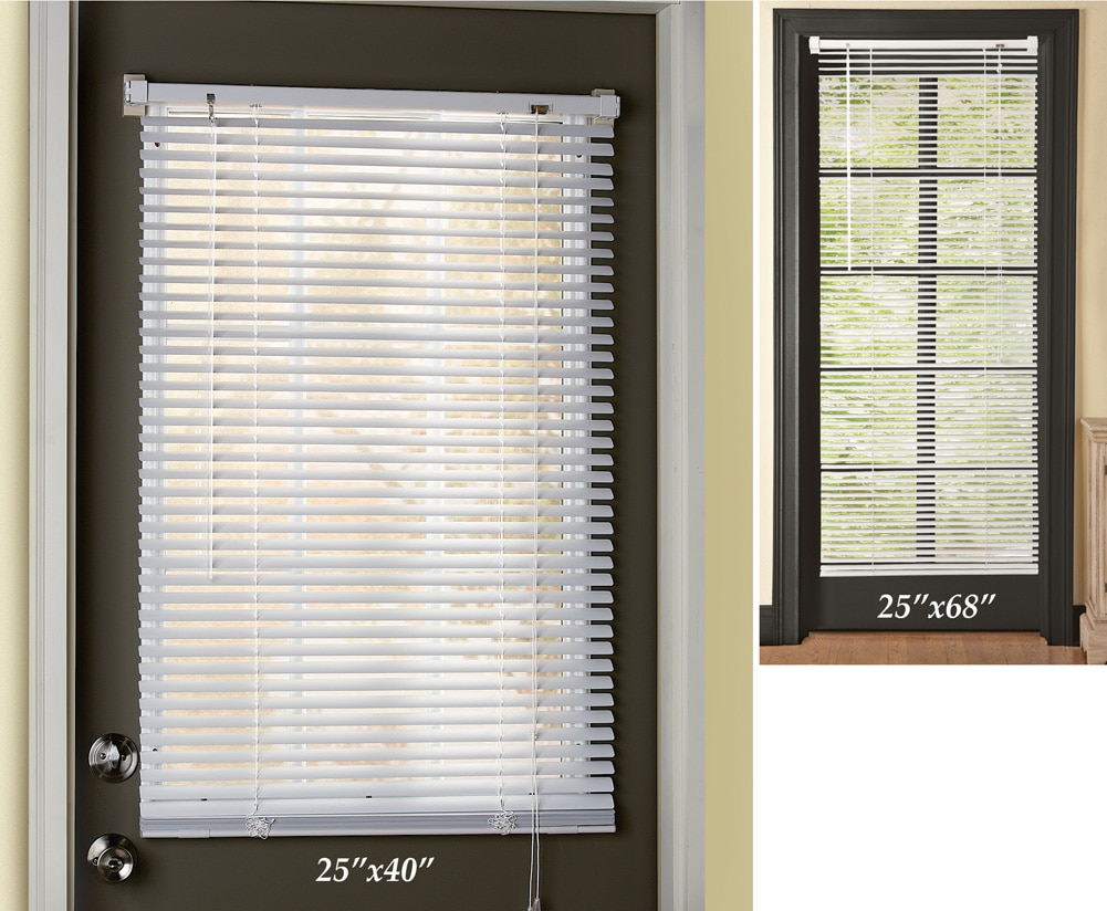 Easy Install Magnetic Window Blinds 25x68 Inch   Walmart.com