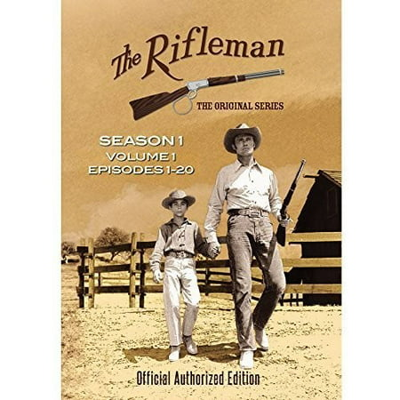 The Rifleman: Season 1 Volume 1 (Episodes 1 - 20) (DVD) - Jessie Tv Show Halloween Episode