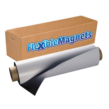 Magnetic Sheet Roll for Crafts, Signs, Display - Flexible 24
