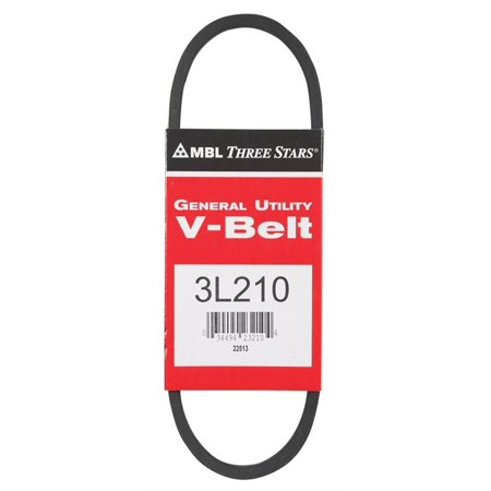 Mitsuboshi  General Utility V-Belt  0.38 in. W x 21 in.