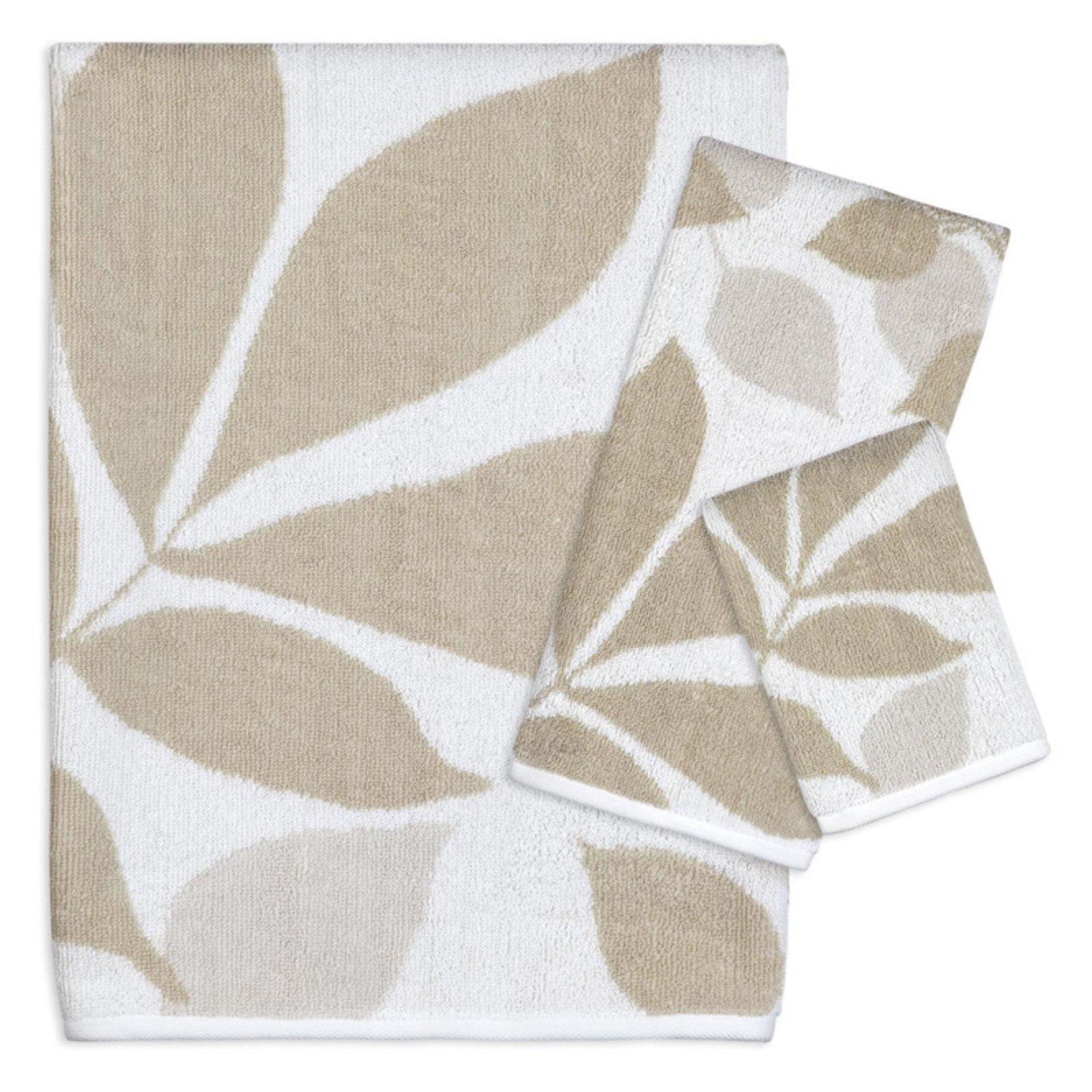Creative Bath Shadow Leaves 100% Cotton 3 Piece Bath Towel Set by Creative Bath Products Inc