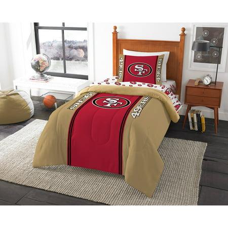 NFL San Francisco 49ers Bed in a Bag Complete Bedding - San Francisco 49ers Set