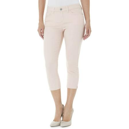 Jordache Women's Skinny Denim Capris - Jordache Women's Skinny Denim Capris - Walmart.com