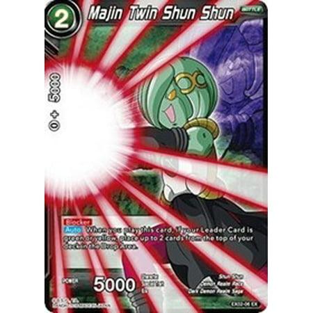 Dragon Ball Super Expansion Deck Box Set 2 Majin Twin Shun Shun EX02-06 [Foil]