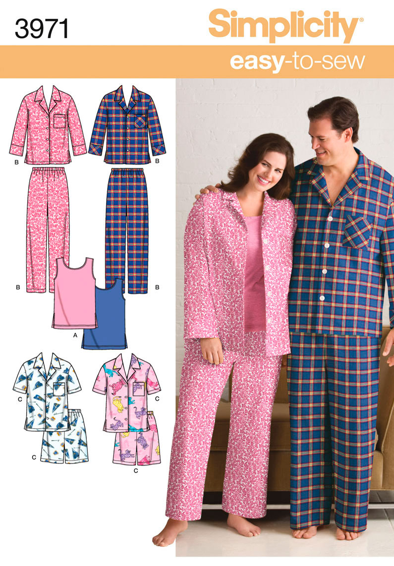 Simplicity Pajama Patterns Interesting Inspiration