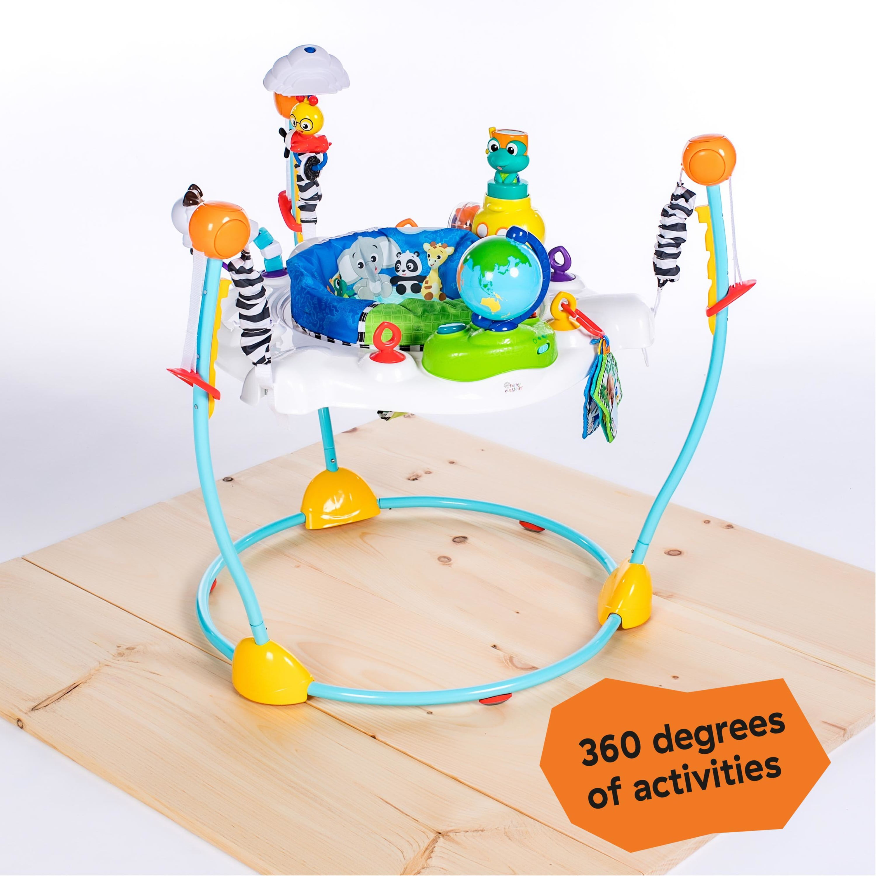 Baby Einstein Journey of Discovery Jumper Activity Center w// Lights and Melodies