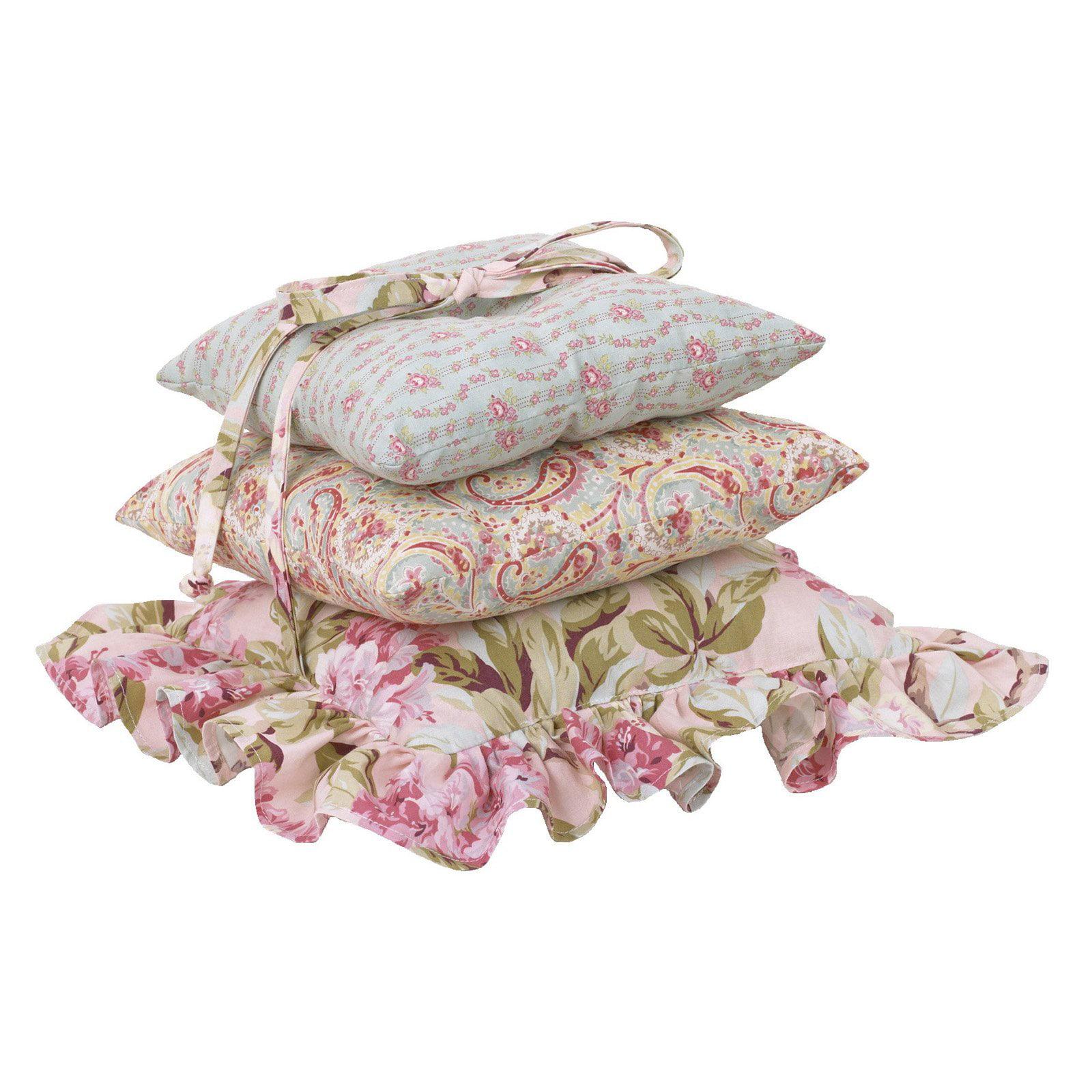 Cotton Tale Designs Tea Party 3 Piece Decorative Pillow