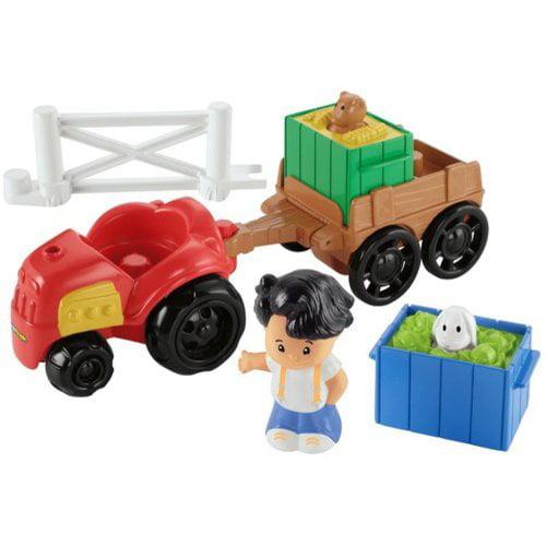 Little People Farm Tractor & Trailer