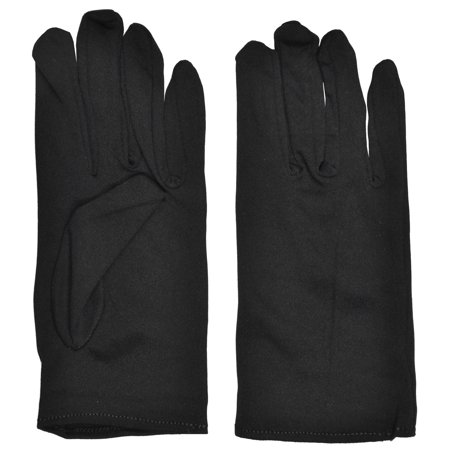 Adult Halloween Gloves (Spirit Halloween Black Gloves)