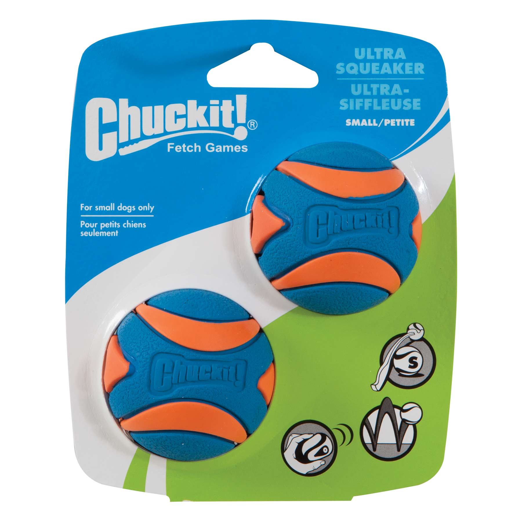 Chuckit! Ultra Squeaker Ball, Large 1 Pk