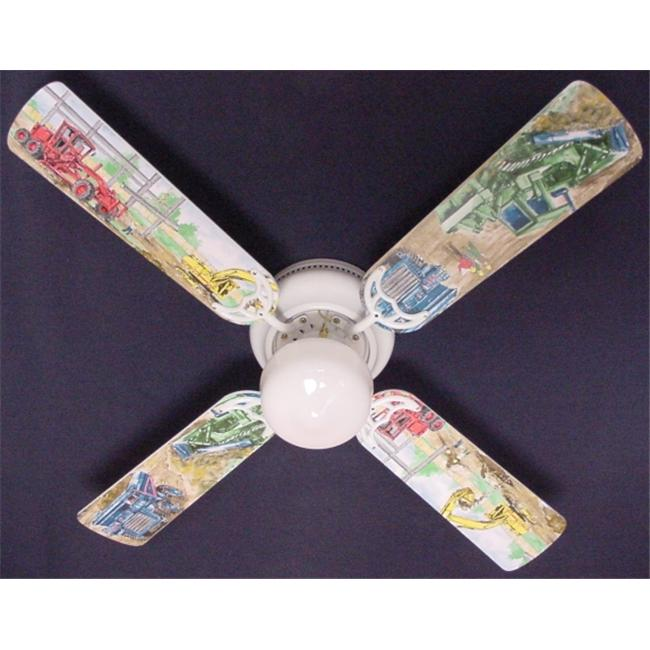Ceiling Fan Designers 42FAN-KIDS-CDT Construction Dump Trucks Ceiling Fan 42 in.