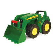 "John Deere Big Scoop Toy Dump Truck with Loader, 21"", Green"