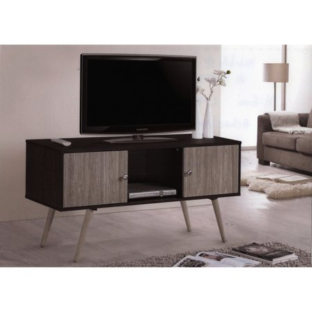 Hodedah Imports 47 in. Retro Style Entertainment