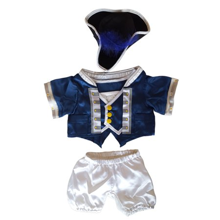 Patriotic Bluecoat Outfit Fits Most 14