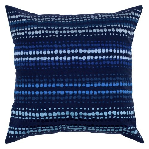 Rizzy Home Anna Redmond Collection Embroidered Decorative Throw Pillow