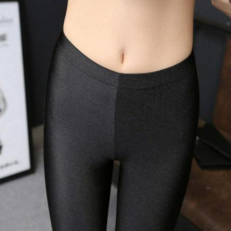 New Women Soft Workout Yoga Stretch Leggings Cotton Bike Spandex Fitness F8 Q8J3