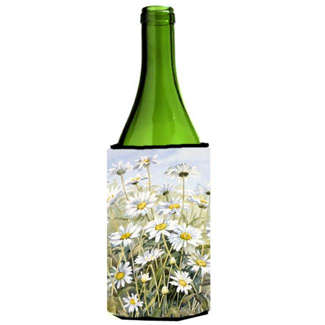 Daisies by Bettie Cheesman Wine Bottle Can cooler Hugger