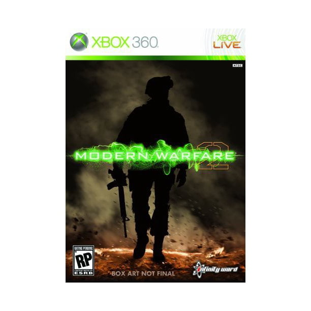 Call Of Duty Modern Warfare 2 Xbox 360 Walmart Com Walmart Com