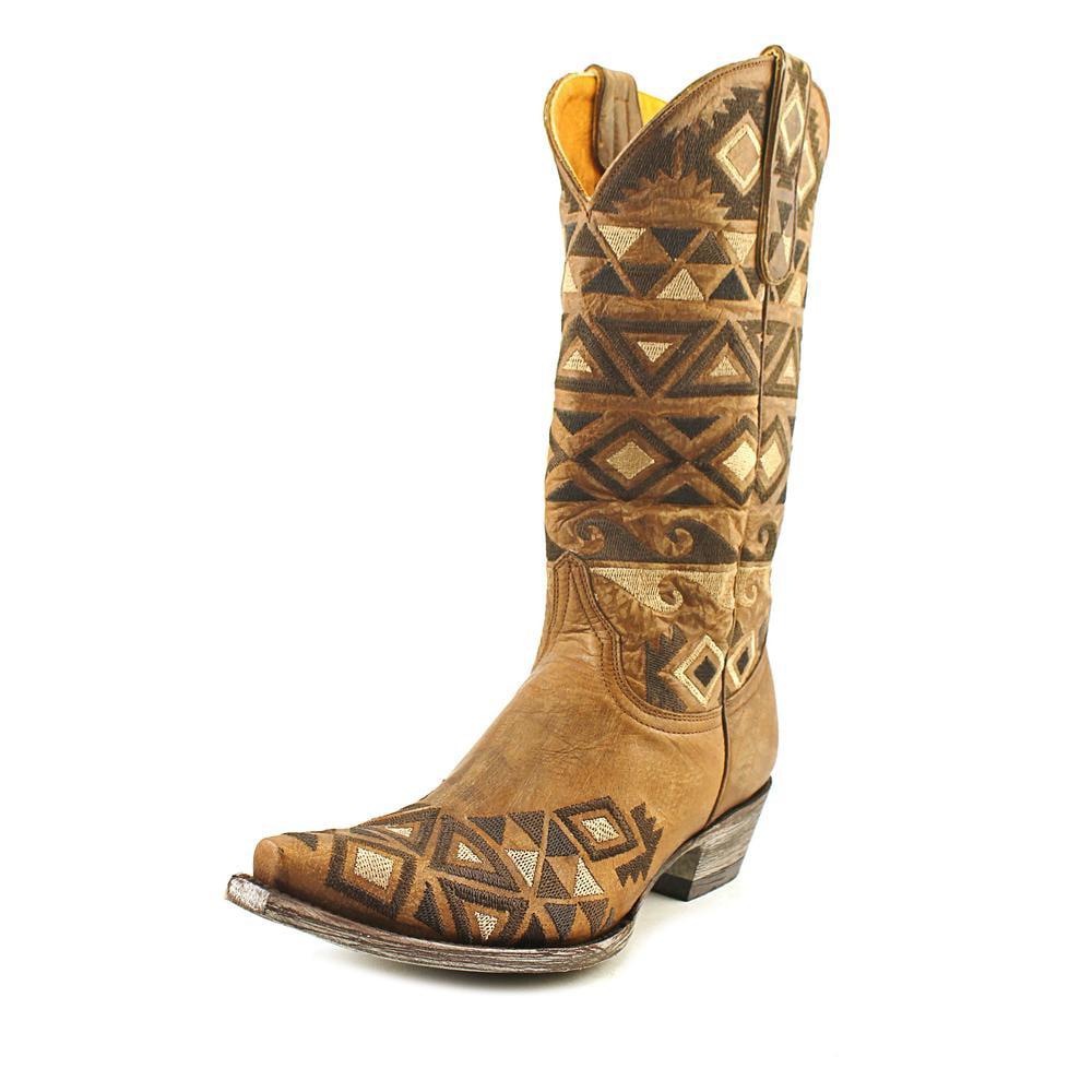 "OLD GRINGO Durango 13"" Women  Pointed Toe Leather Brown W..."
